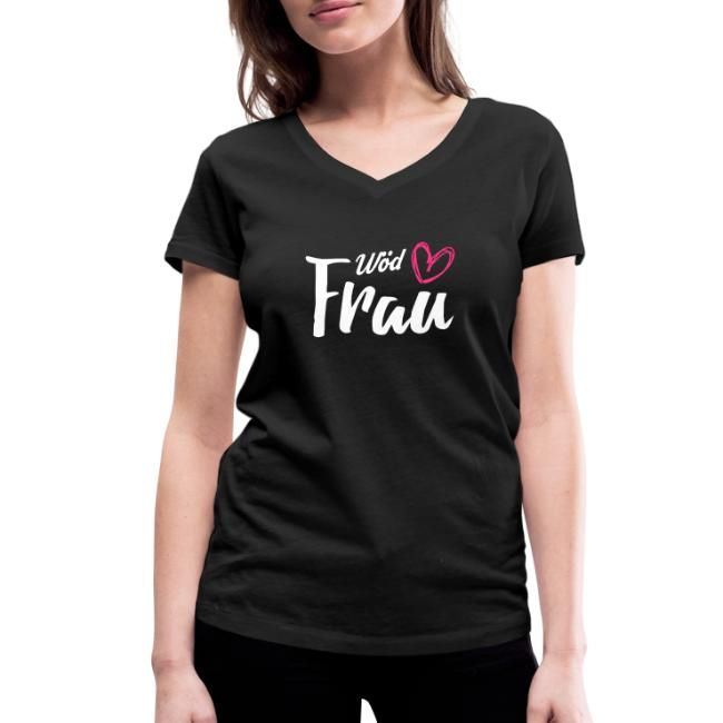 Vorschau: Wöd Frau - Frauen Bio-T-Shirt mit V-Ausschnitt von Stanley & Stella