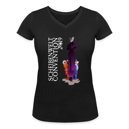 Scheibenwelt Convention 2019 - Susanne Sto Helit - Frauen Bio-T-Shirt mit V-Ausschnitt von Stanley & Stella