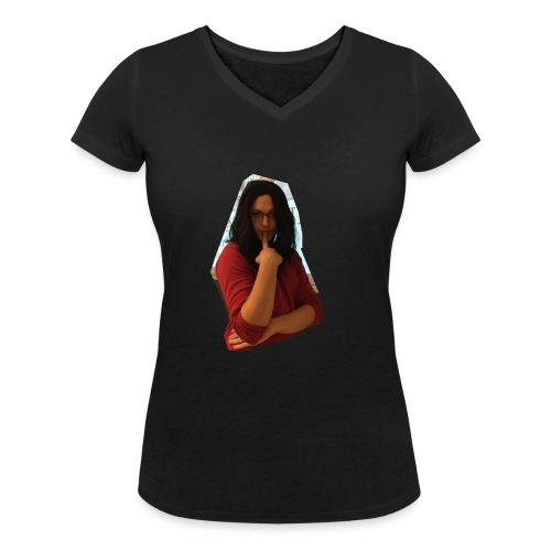 Another extremely attractive shirt - Frauen Bio-T-Shirt mit V-Ausschnitt von Stanley & Stella