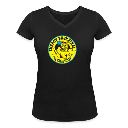 top energy - T-shirt ecologica da donna con scollo a V di Stanley & Stella