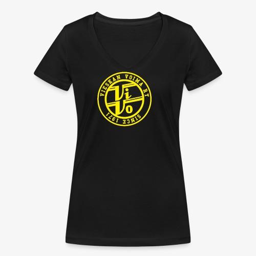 ViVoPAITA transparent - Stanley & Stellan naisten v-aukkoinen luomu-T-paita