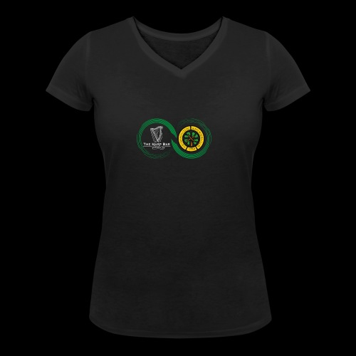 Harp and French CSC logo - T-shirt bio col V Stanley & Stella Femme