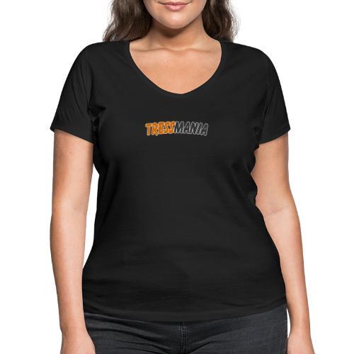 Tressmania Logo 01 - Women's Organic V-Neck T-Shirt by Stanley & Stella