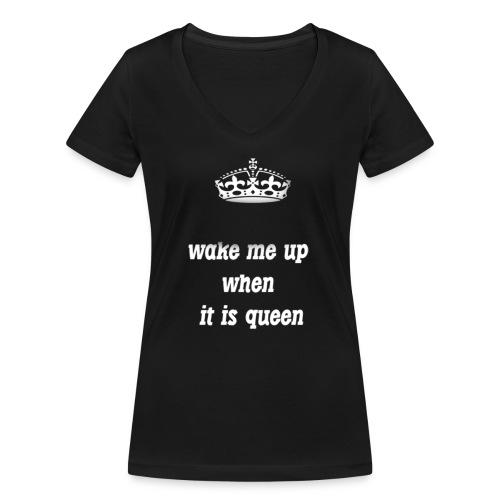 TAKE ME UP - Camiseta ecológica mujer con cuello de pico de Stanley & Stella