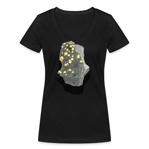 Kugelcalcit - Frauen Bio-T-Shirt mit V-Ausschnitt von Stanley & Stella