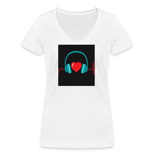 Victoria Sowinska - Women's Organic V-Neck T-Shirt by Stanley & Stella