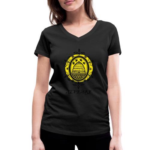 Bienenvolk - Frauen Bio-T-Shirt mit V-Ausschnitt von Stanley & Stella