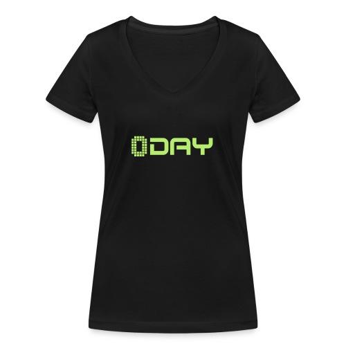 0-Day - Women's Organic V-Neck T-Shirt by Stanley & Stella