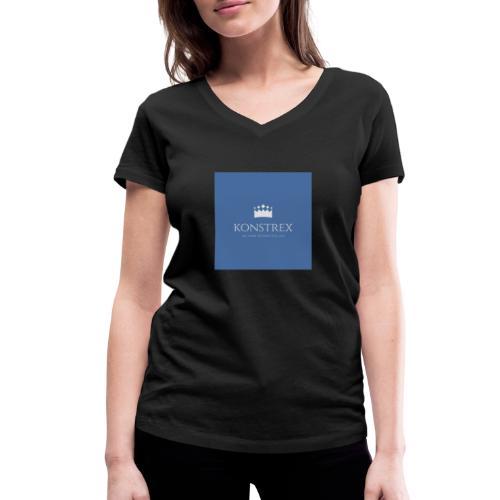 konstrex - Økologisk Stanley & Stella T-shirt med V-udskæring til damer