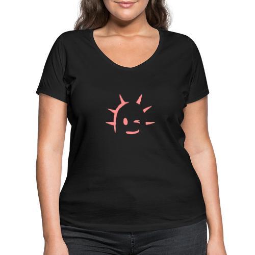 Kaktus Kopf - Frauen Bio-T-Shirt mit V-Ausschnitt von Stanley & Stella