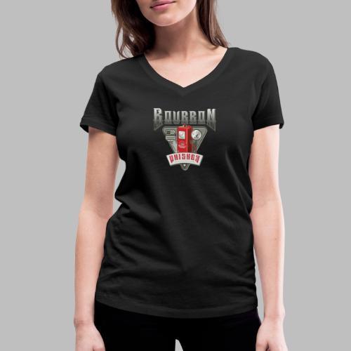 Bourbon Whiskey - Frauen Bio-T-Shirt mit V-Ausschnitt von Stanley & Stella