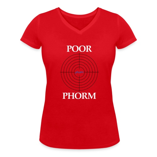 Poor Phorm - Women's Organic V-Neck T-Shirt by Stanley & Stella