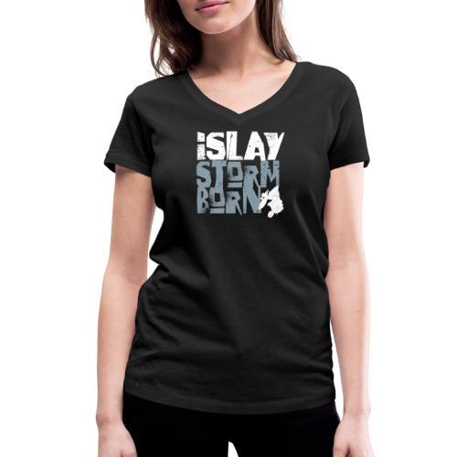 Islay Storm Born - Frauen Bio-T-Shirt mit V-Ausschnitt von Stanley & Stella
