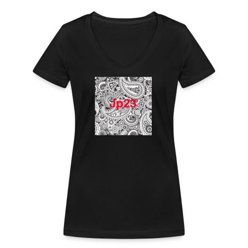 Jp23 - Frauen Bio-T-Shirt mit V-Ausschnitt von Stanley & Stella