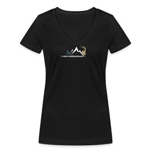 i-sierradelasnieves.com - Camiseta ecológica mujer con cuello de pico de Stanley & Stella