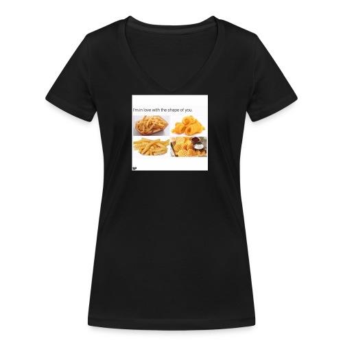 Shape - Frauen Bio-T-Shirt mit V-Ausschnitt von Stanley & Stella