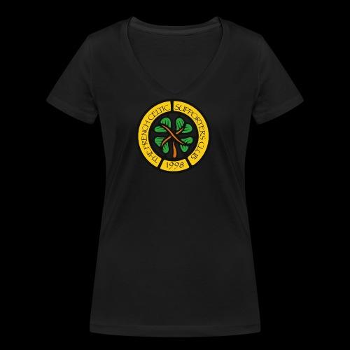 French CSC logo - T-shirt bio col V Stanley & Stella Femme