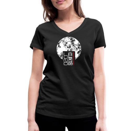 LAK pattern logo - Ekologisk T-shirt med V-ringning dam från Stanley & Stella