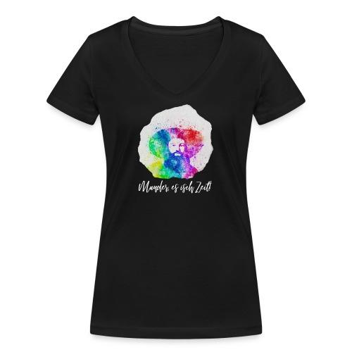 Andreas Hofer - Tirol - Frauen Bio-T-Shirt mit V-Ausschnitt von Stanley & Stella