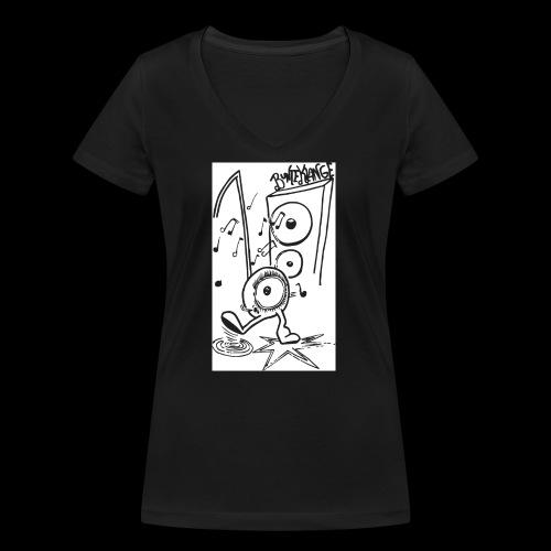 BunteKlänge Freak4 - Frauen Bio-T-Shirt mit V-Ausschnitt von Stanley & Stella