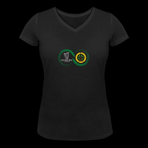 Harp and French CSC logo - T-shirt bio col V Stanley & Stella Femme