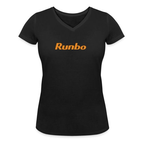Runbo brand design - Women's Organic V-Neck T-Shirt by Stanley & Stella