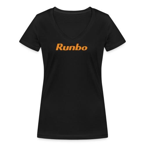 Runbo brand design - Women's Organic V-Neck T-Shirt by Stanley & Stella
