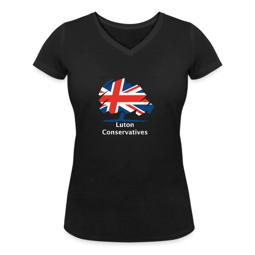 Luton Conservatives - Women's Organic V-Neck T-Shirt by Stanley & Stella