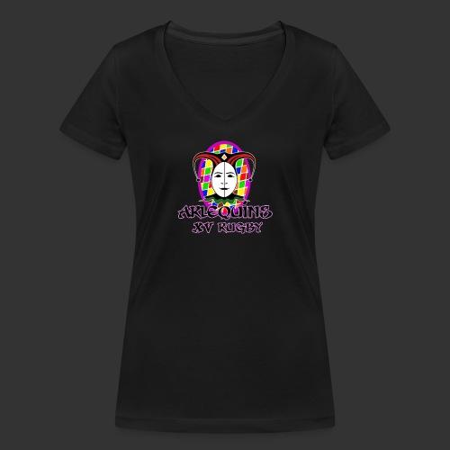 Arlequins Beauvais - T-shirt bio col V Stanley & Stella Femme
