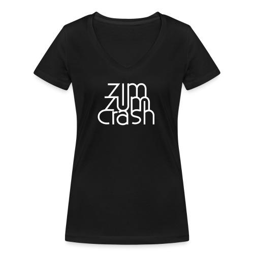 Zim Zum Crash Band Shirt - Frauen Bio-T-Shirt mit V-Ausschnitt von Stanley & Stella