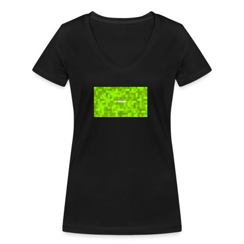 Youtube Triffcold - Frauen Bio-T-Shirt mit V-Ausschnitt von Stanley & Stella