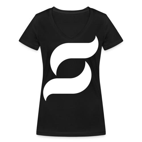 Samy Inc - Frauen Bio-T-Shirt mit V-Ausschnitt von Stanley & Stella