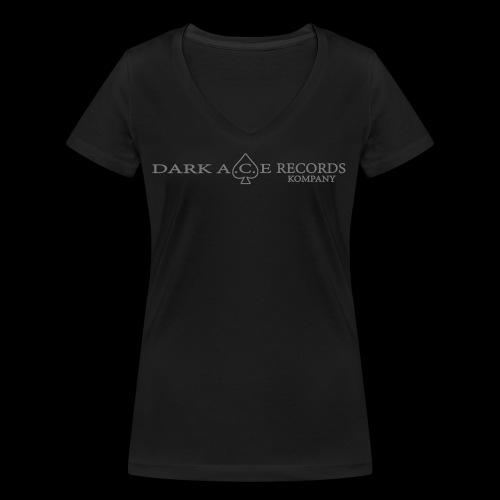 DarkAceBanner - Women's Organic V-Neck T-Shirt by Stanley & Stella