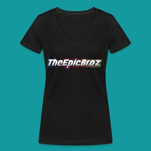 TheEpicBroz - Vrouwen bio T-shirt met V-hals van Stanley & Stella