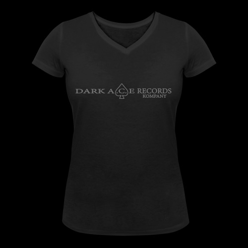 DarkAceBanner - Women's Organic V-Neck T-Shirt by Stanley & Stella