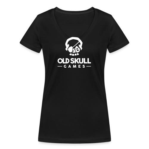 OldSkullGames_Logo2016_Sq - T-shirt bio col V Stanley & Stella Femme