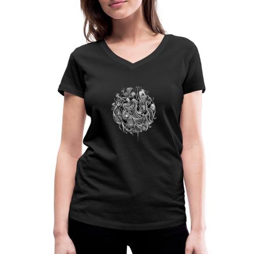 Sphere 2 - Women's Organic V-Neck T-Shirt by Stanley & Stella