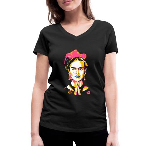 La Mexicana - Frauen Bio-T-Shirt mit V-Ausschnitt von Stanley & Stella