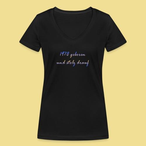 1978 - Frauen Bio-T-Shirt mit V-Ausschnitt von Stanley & Stella