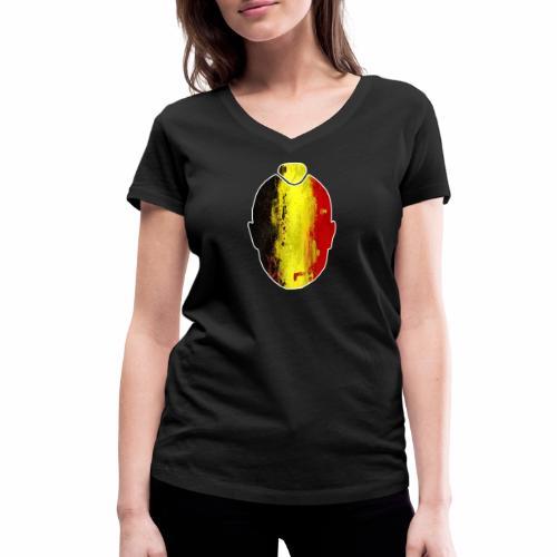 Ninja #ALLFORRADJA - Vrouwen bio T-shirt met V-hals van Stanley & Stella