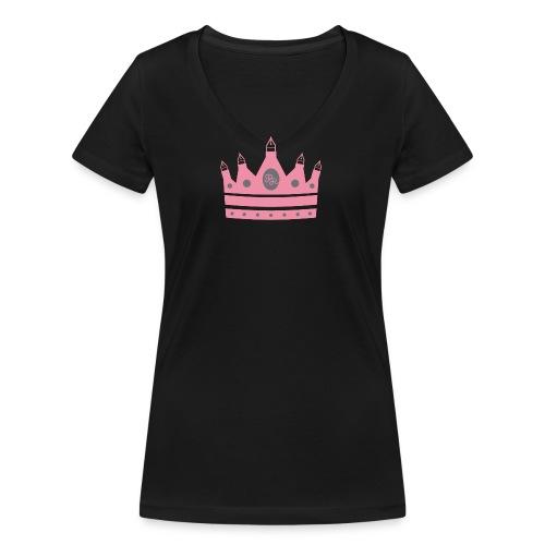 final2 png - Frauen Bio-T-Shirt mit V-Ausschnitt von Stanley & Stella