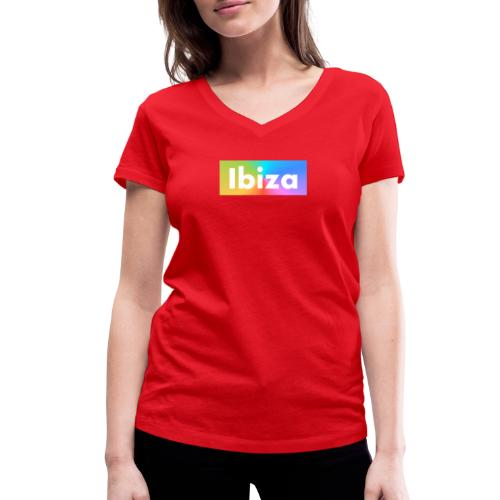 IBIZA Color - Women's Organic V-Neck T-Shirt by Stanley & Stella