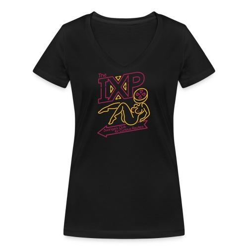 IXP Swingers Club - Women's Organic V-Neck T-Shirt by Stanley & Stella