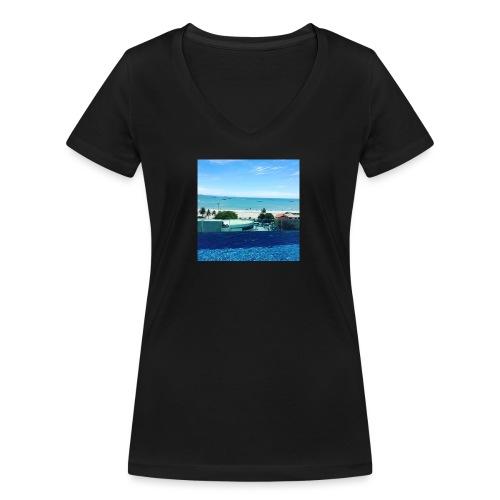 Thailand pattaya - Økologisk Stanley & Stella T-shirt med V-udskæring til damer