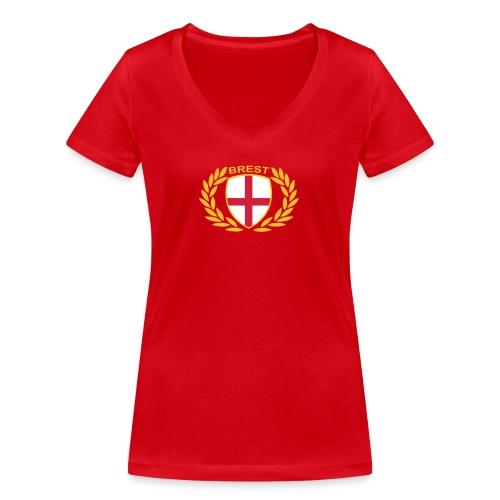 bresteng - T-shirt bio col V Stanley & Stella Femme