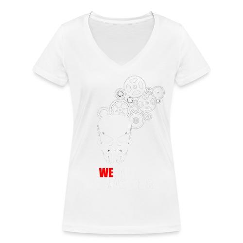 ENGRE CRANE 01 png - T-shirt bio col V Stanley & Stella Femme