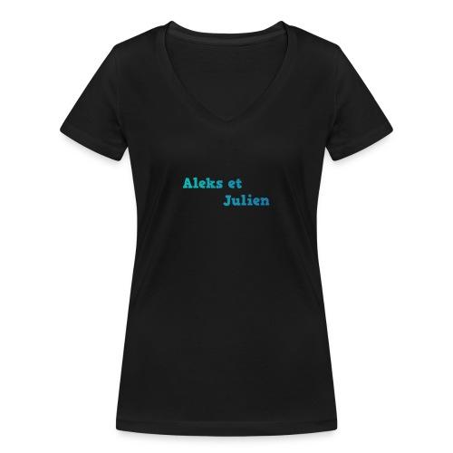 Notre logo - T-shirt bio col V Stanley & Stella Femme