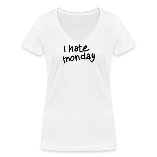 ihatemonday - T-shirt bio col V Stanley & Stella Femme