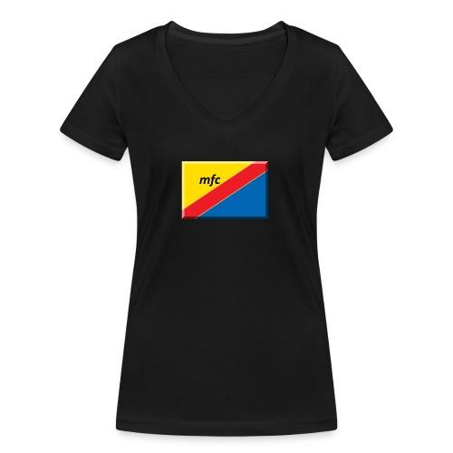 Mambo fc - T-shirt ecologica da donna con scollo a V di Stanley & Stella