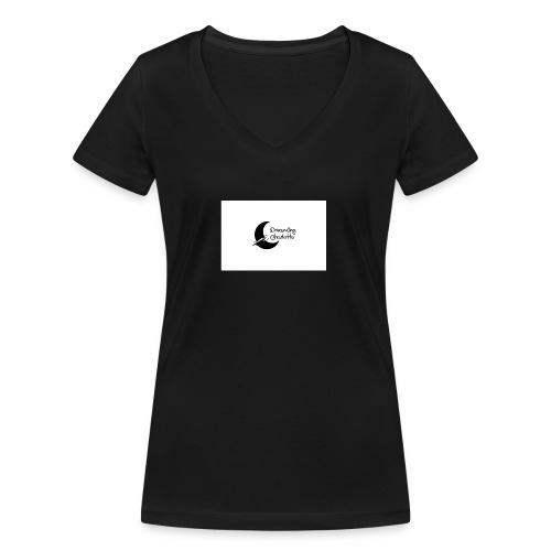 Dreaming Charlotte - Intro - Women's Organic V-Neck T-Shirt by Stanley & Stella